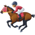 🏇🏽 horse racing: medium skin tone Emoji on Facebook Platform