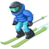 ⛷️ Person Skiing Emoji on Facebook Platform