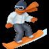 🏂🏼 snowboarder: medium-light skin tone Emoji on Facebook Platform
