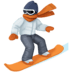🏂🏽 snowboarder: medium skin tone Emoji on Facebook Platform