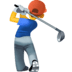 🏌️‍♂️ man golfing Emoji on Facebook Platform