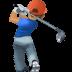 🏌🏽♂️ man golfing: medium skin tone Emoji on Facebook Platform
