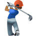 🏌🏾♂️ Medium Dark Skin Tone Man Golfing Emoji on Facebook Platform