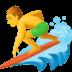 🏄♂️ man surfing Emoji on Facebook Platform