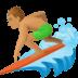 🏄🏽♂️ man surfing: medium skin tone Emoji on Facebook Platform