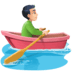 🚣🏻‍♂️ man rowing boat: light skin tone Emoji on Facebook Platform