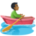 🚣🏾‍♂️ man rowing boat: medium-dark skin tone Emoji on Facebook Platform
