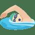 🏊🏻 person swimming: light skin tone Emoji on Facebook Platform