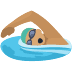 🏊🏽 person swimming: medium skin tone Emoji on Facebook Platform