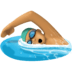 🏊🏽‍♂️ man swimming: medium skin tone Emoji on Facebook Platform