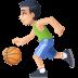 ⛹🏻♂️ man bouncing ball: light skin tone Emoji on Facebook Platform