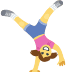 🤸 person cartwheeling Emoji on Facebook Platform