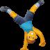 🤸♂️ man cartwheeling Emoji on Facebook Platform