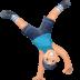 🤸🏻♂️ man cartwheeling: light skin tone Emoji on Facebook Platform