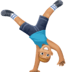 🤸🏼‍♂️ man cartwheeling: medium-light skin tone Emoji on Facebook Platform