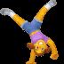🤸♀️ woman cartwheeling Emoji on Facebook Platform