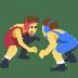 🤼 people wrestling Emoji on Facebook Platform
