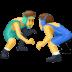 🤼♂️ Men Wrestling Emoji on Facebook Platform