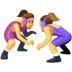 🤼♀️ women wrestling Emoji on Facebook Platform