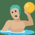 🤽🏼 person playing water polo: medium-light skin tone Emoji on Facebook Platform