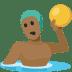 🤽🏾 person playing water polo: medium-dark skin tone Emoji on Facebook Platform