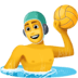 🤽‍♂️ man playing water polo Emoji on Facebook Platform