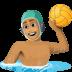 🤽🏽♂️ man playing water polo: medium skin tone Emoji on Facebook Platform