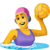 🤽‍♀️ Woman Playing Water Polo Emoji on Facebook Platform