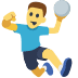 🤾 person playing handball Emoji on Facebook Platform