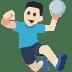 🤾🏻 person playing handball: light skin tone Emoji on Facebook Platform