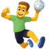 🤾‍♂️ man playing handball Emoji on Facebook Platform