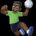 🤾🏿♂️ man playing handball: dark skin tone Emoji on Facebook Platform