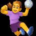 🤾♀️ woman playing handball Emoji on Facebook Platform