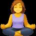 🧘 person in lotus position Emoji on Facebook Platform