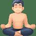 🧘🏻♂️ man in lotus position: light skin tone Emoji on Facebook Platform