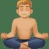 🧘🏼♂️ man in lotus position: medium-light skin tone Emoji on Facebook Platform