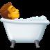 🛀 person taking bath Emoji on Facebook Platform