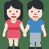 🧑🏻🤝🧑🏻 people holding hands: light skin tone Emoji on Facebook Platform