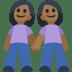 👭🏾 women holding hands: medium-dark skin tone Emoji on Facebook Platform