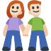 👫🏻 woman and man holding hands: light skin tone Emoji on Facebook Platform