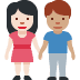 👩🏻‍🤝‍👨🏽 woman and man holding hands: light skin tone, medium skin tone Emoji on Facebook Platform