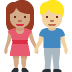 👩🏽‍🤝‍👨🏼 woman and man holding hands: medium skin tone, medium-light skin tone Emoji on Facebook Platform