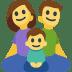 👪 family Emoji on Facebook Platform