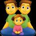 👨👨👧 family: man, man, girl Emoji on Facebook Platform