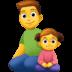👨👧 family: man, girl Emoji on Facebook Platform