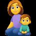 👩👦 family: woman, boy Emoji on Facebook Platform
