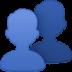 👥 Busts In Silhouette Emoji on Facebook Platform