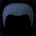 🦱 curly hair Emoji on Facebook Platform