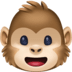 🐵 Monkey Face Emoji on Facebook Platform