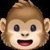 🐵 monkey face Emoji on Facebook Platform